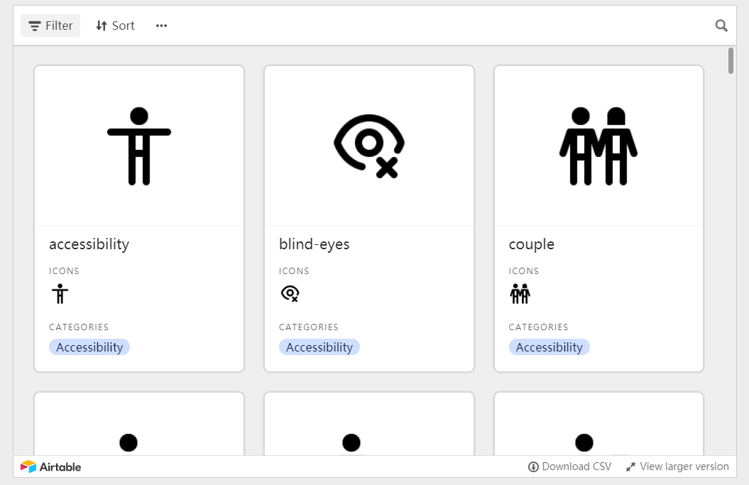 1000+ Full Free UI Icons Pack Based On CSS – Neu