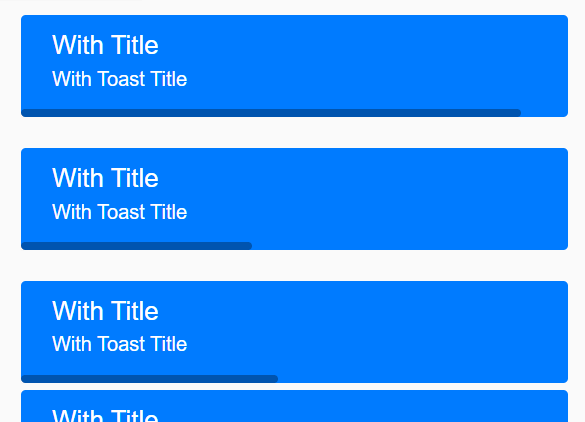 Animated Toast Popup With JavaScript – vtoast