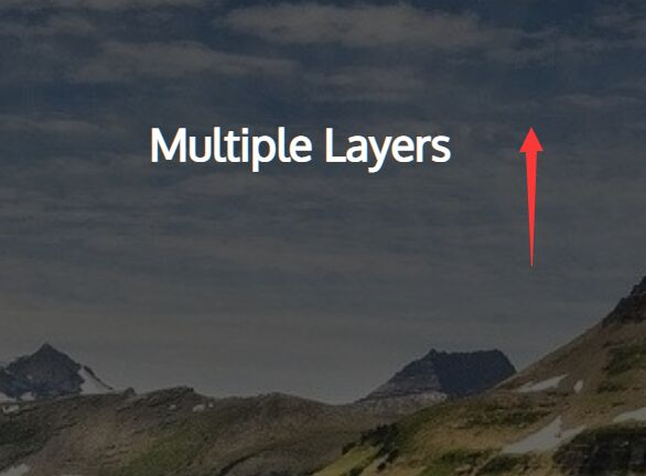 Parallax Scrolling Effect For Single Or Multiple Layers – shadowllax