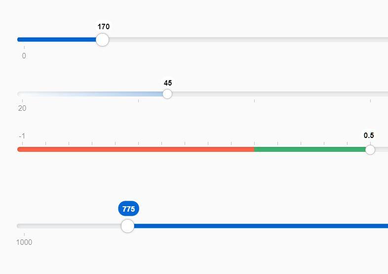 CSS Only Customizable Range Slider – UI-Range