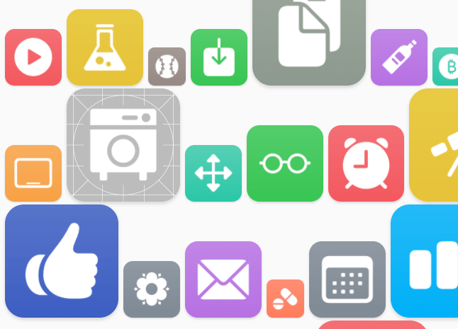 iOS Glyph Icons In A CSS Image Sprite – shortcut-icons.css