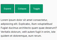 Accessible Content Toggle JavaScript Library - MinimalCollapse.js