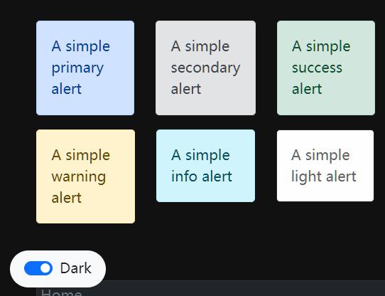 Dark Mode Switcher For Bootstrap 5