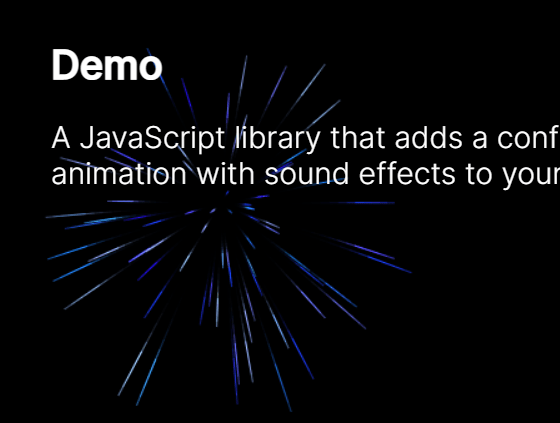 Firework Animation With JavaScript And Canvas – fireworks-js