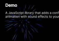 Firework Animation With JavaScript And Canvas - fireworks-js