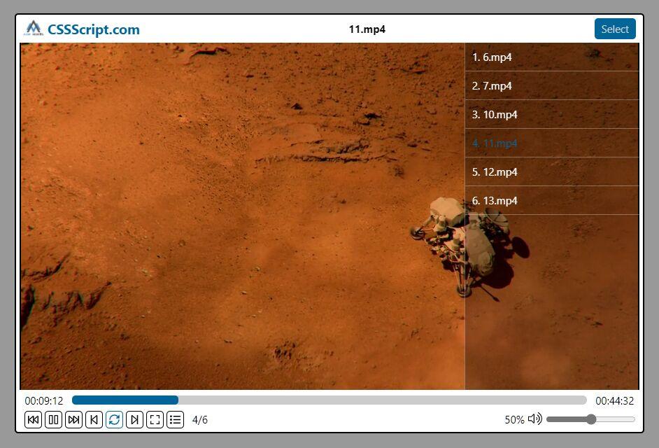 Web Based Media Player In JavaScript – Aim-Player