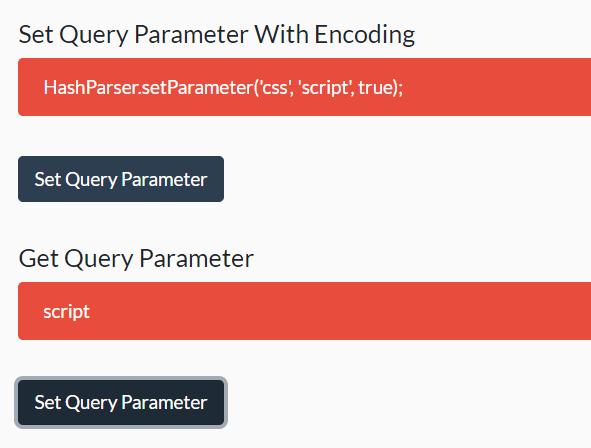 Set & Get Query Parameters In URL – hashparser