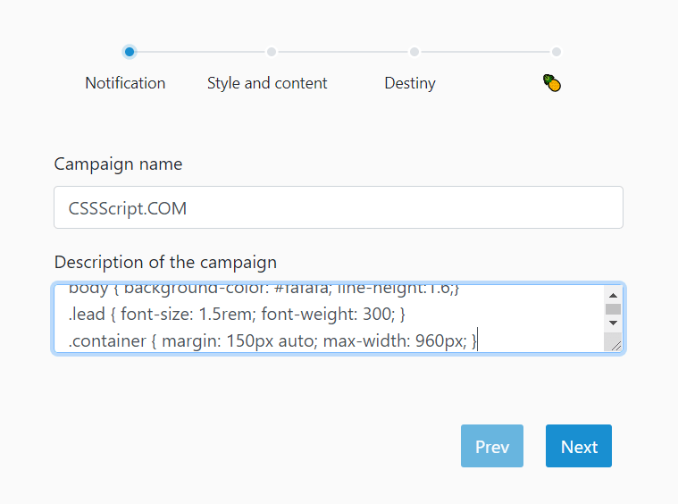 Form Wizard UI With Step Navigation – Wizard-JS