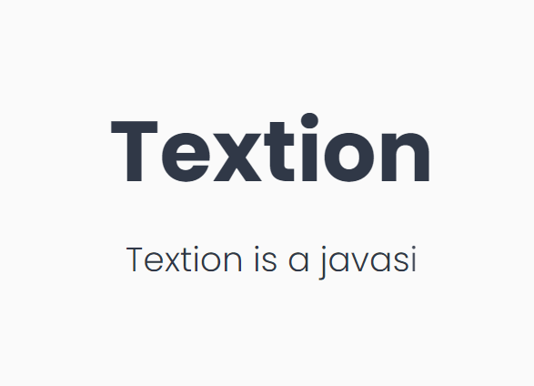Typing Animation With Character Shuffle Effect – Textion