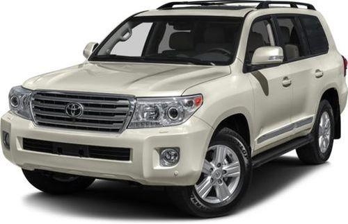 Gray 2015 Toyota Land Cruiser