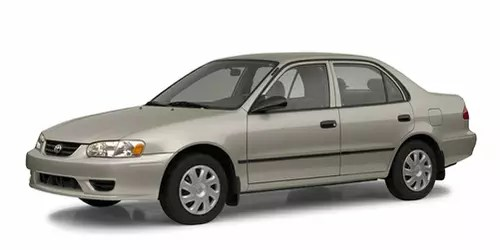 2002 Toyota Corolla Transmission Diagram