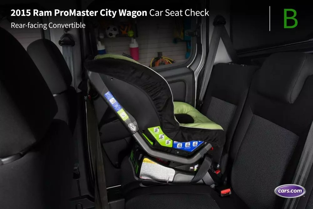 2015 Ram ProMaster City Wagon Car Seat Check  News