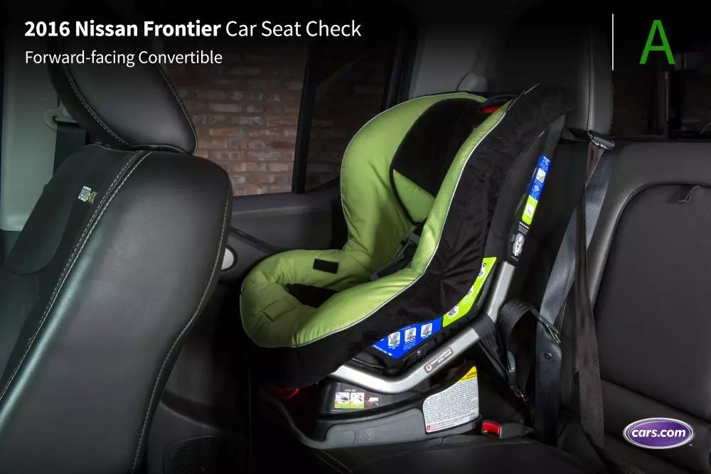2016 Nissan Frontier Car Seat Check News Cars Com