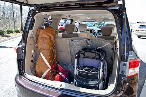 Top Minivan Nissan Quest May Offer Best Cargo Hauling in