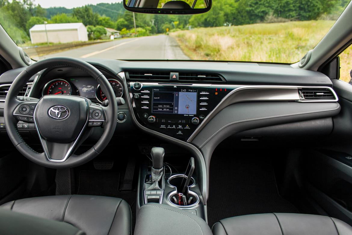 all new camry 2018 interior harga grand avanza di makassar toyota review first drive news cars