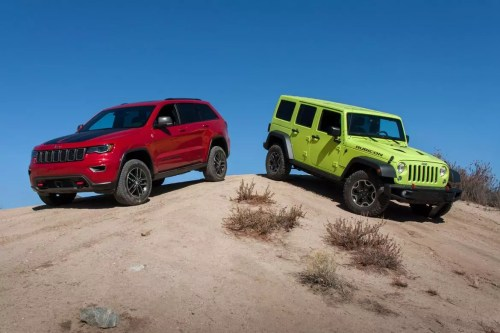 small resolution of ultimate jeep head to head wrangler rubicon versus grand cherokee trailhawk news cars com