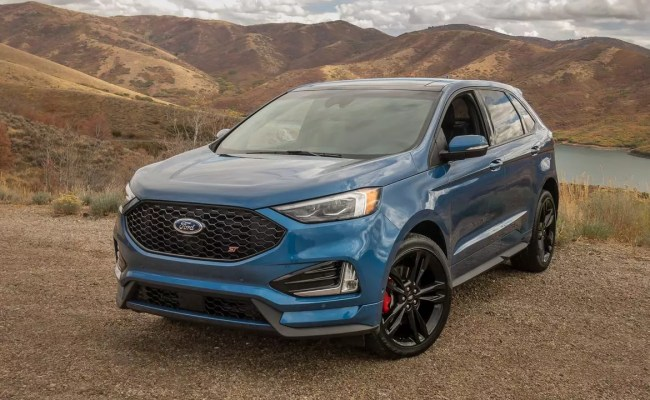 2019 Ford Edge St Mashes Up Performance And Practicality