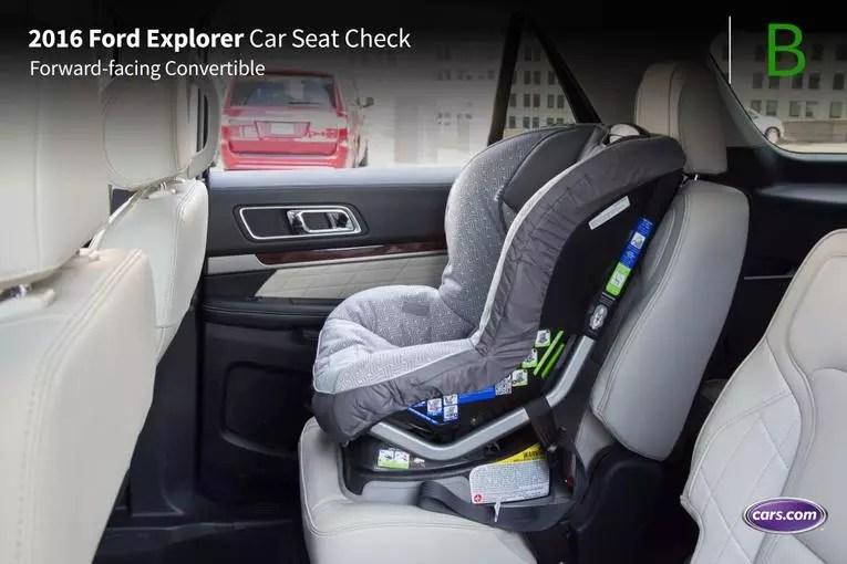 2016 Ford Explorer Car Seat Check