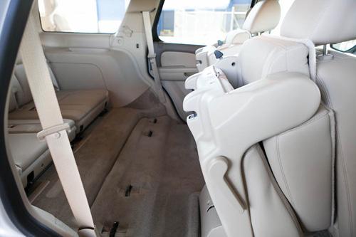 2012 Chevrolet Tahoe Car Seat Check