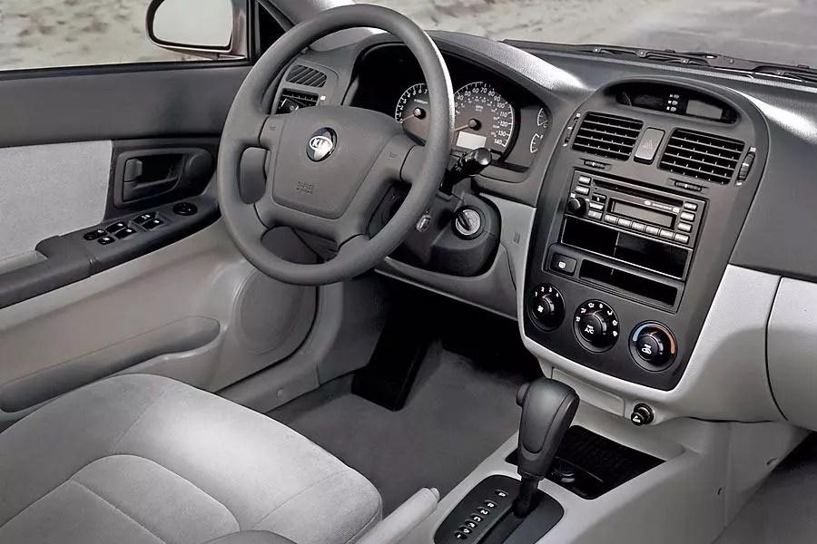 2005 Kia Spectra Reviews Specs And Prices Cars Com