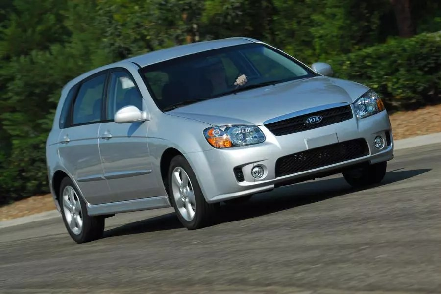 2009 Kia Spectra5 Reviews Specs And Prices Cars Com