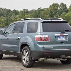 2017 Gmc Acadia With Captains Chairs Zero Gravity Chair Outdoor 2011 Overview | Cars.com