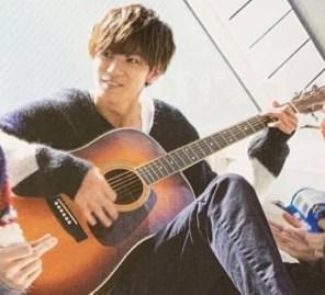 神宮寺勇太,ギター