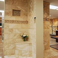 Kitchen And Bath Showroom 32 Inch Undermount Sink Tivoli/saturnia Mix Travertine - Central States Tile