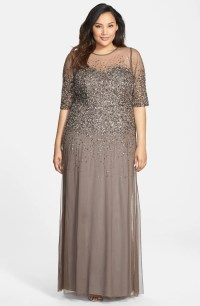 Formal plus size dresses with sleeves - Style Jeans
