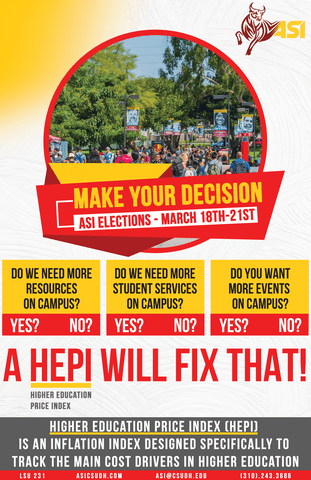 ASI elections run from March 18-March 21. Go to http://http://www.asicsudh.com/vote for more info.