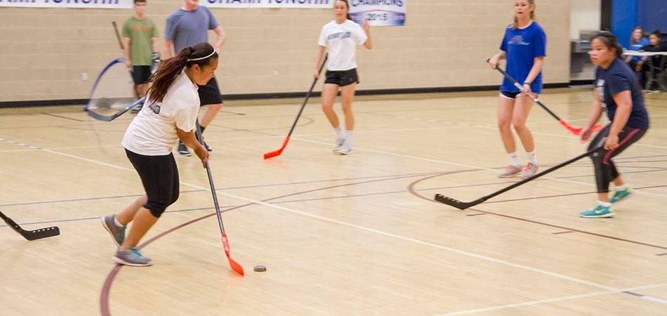 Floor Hockey  Campus Recreation  CSUSM