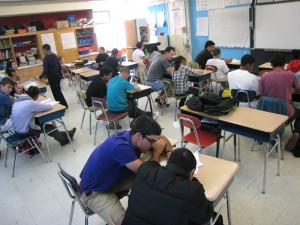 King Middle-Schoolers Seek Out After-School Math Support