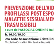 Prevenzione dell'AIDS. Napoli 10 Marzo, quartiere Sanità