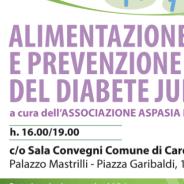 Alimentazione e prevenzione del diabete junior. Cardito 31 Marzo