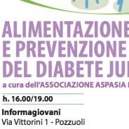 Alimentazione  e prevenzione del diabete Junior: Pozzuoli 21 aprile