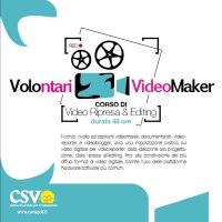 """Aperte le iscrizioni al corso di formazione """"Volontari Videomaker"""""""
