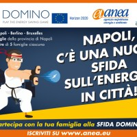 """""""Domino"""": aperte le iscrizioni per la più grande sfida europea sul risparmio energetico"""