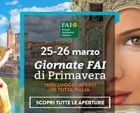 Giornate Fai di primavera: 1000 siti aperti in tutta Italia