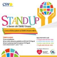 Educazione ai Diritti Umani: al via le iscrizioni per il nuovo corso del CSV Napoli
