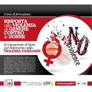 Violenza di genere: CSV Napoli lancia il nuovo corso di formazione per volontari