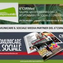 Comunicare il Sociale media partner ufficiale del Salone Mediterraneo della Responsabilità Sociale Condivisa