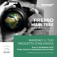 Premio Mani Tese per il Giornalismo Investigativo e Sociale
