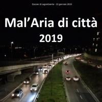 Mal'aria 2019, il dossier annuale sull'inquinamento atmosferico nelle città italiane