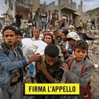 STOP alle armi italiane in Yemen. Firma l'appello di Amnesty International