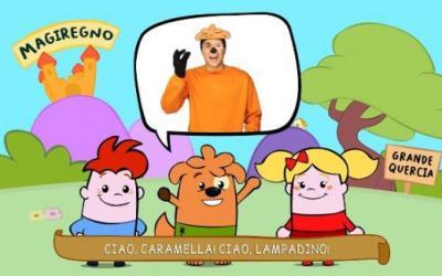 """""""Lampadino e Caramella nel magiregno degli zampa"""", sbarca su RaiYoYo il primo cartoon inclusivo al mondo per bimbi speciali"""