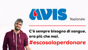 #EscoSoloPerDonare, l'appello di AVIS per non fermare la donazione di sangue