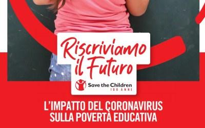 Riscriviamo il futuro: Save the children lancia la campagna nazionale contro la povertà educativa
