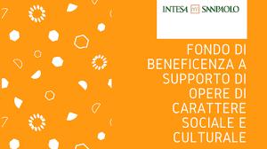 Contributi dal Fondo beneficenza di Intesa Sanpaolo