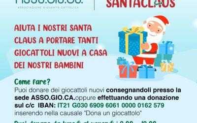Operazione Santa Claus: dona un giocattolo che regala un sorriso