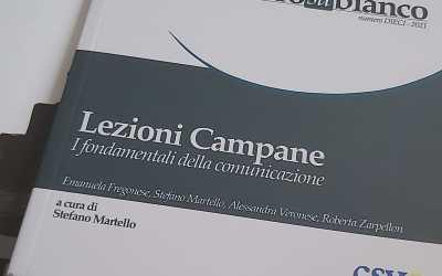 Lezioni Campane. I fondamentali della comunicazione. La nuova pubblicazione del CSV Napoli